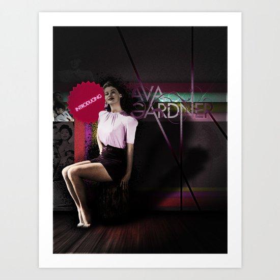 Introducing... Ava Gardner Art Print