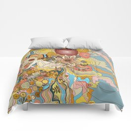 Great Fruits & Blood Oranges Comforters