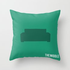 The Middle - Minimalist Throw Pillow