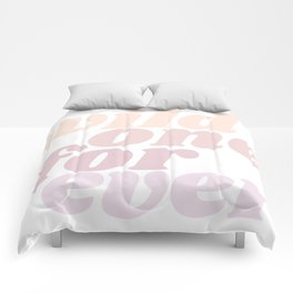 wild one forever Comforters