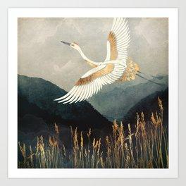 Elegant Flight Art Print