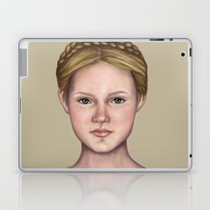 Blonde maiden Laptop & iPad Skin