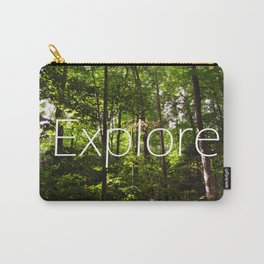 Forest // Silent In The Trees // Explore Carry-All Pouch