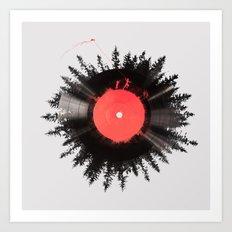 The vinyl of my life Art Print