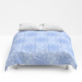Star Vortex - Color: Cerulean Sky Comforters