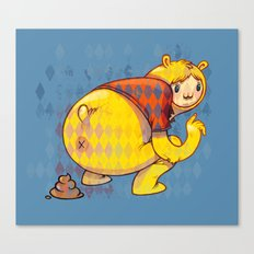 Just poo Canvas Print