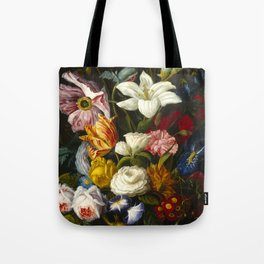 Victorian Bouquet by Severin Roesen Tote Bag