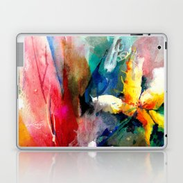 Yellow Flower by Kathy Morton Stanion Laptop & iPad Skin