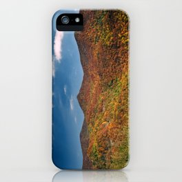 Autumn on the Mountains of the Parkway iPhone Case