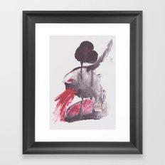 VÓMITO Framed Art Print
