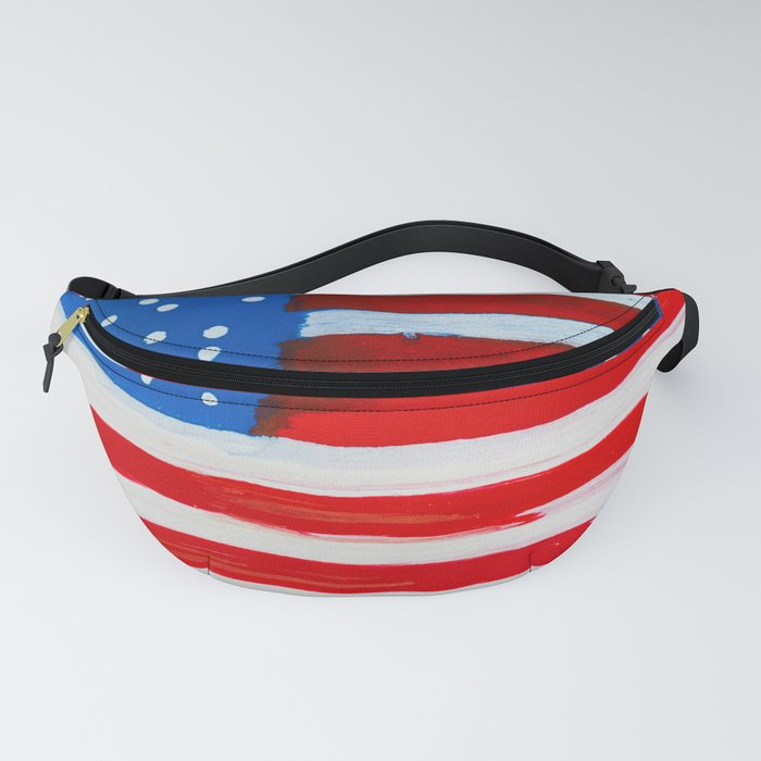 Red, White, and Blue Fanny Pack