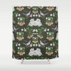 Pear Thief Shower Curtain
