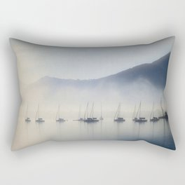 Calm In The Harbor Rectangular Pillow