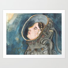 Space Magic Art Print