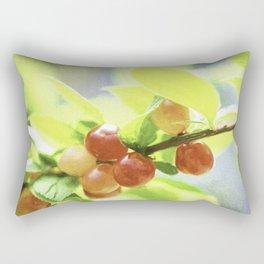 nanking cherry Rectangular Pillow
