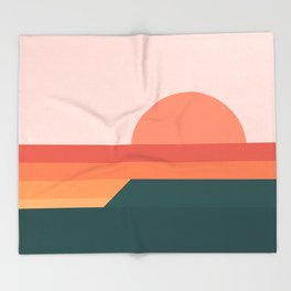 Sunseeker 08 Landscape Throw Blanket