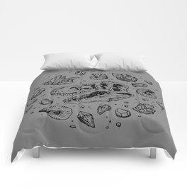 Geo-rex Vortex | Black Comforters