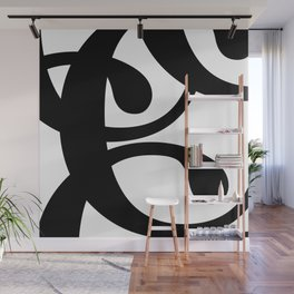 Hidden Letters. Baskerville C Wall Mural