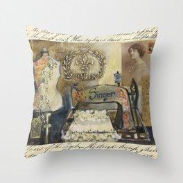 dressmakers dream Throw Pillow