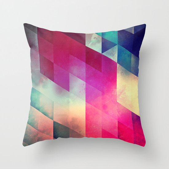 byy byy july Throw Pillow