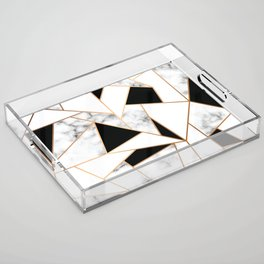 Marble III 003 Acrylic Tray