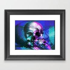 Skullking around Framed Art Print