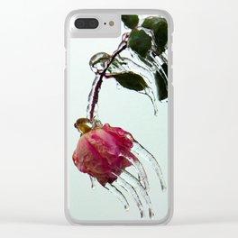 fROSEn Clear iPhone Case