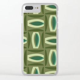 Alcedo - Green Clear iPhone Case