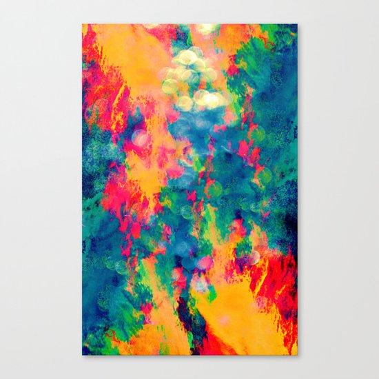 Summer Swirl Canvas Print
