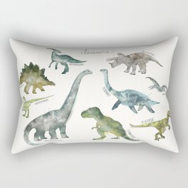 Dinosaurs Rechteckiges Kissen