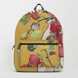 Strawberries & Mustard Backpack