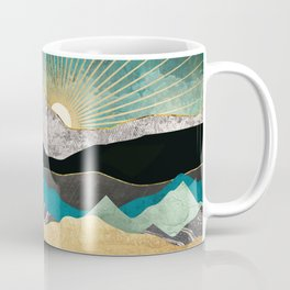 Peacock Vista Coffee Mug