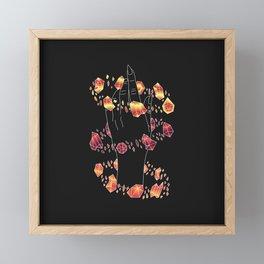 Solo - Illustration Framed Mini Art Print