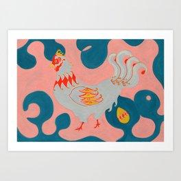 Jack & The Beanstalk Ⅱ Art Print