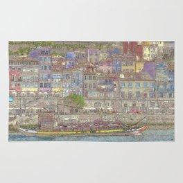 Old houses, Porto, Portugal Rug