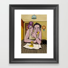 Egg Framed Art Print