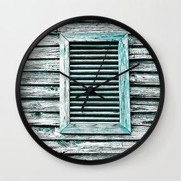Single Window Wall Clock
