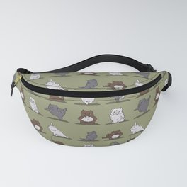 The American Bully Yoga Fanny Pack