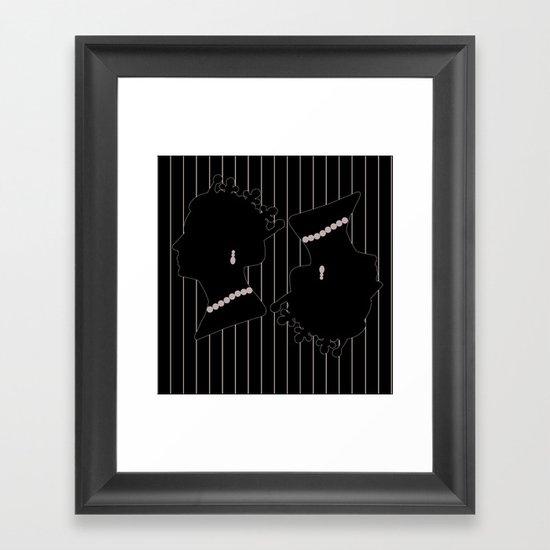 Queenie 13 Framed Art Print