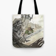 Eowyn and the Witch King Tote Bag