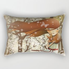 Miss Teaspoon Rectangular Pillow