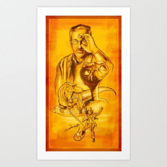 O Mundo de Steven Spielberg - Série Ouro Art Print