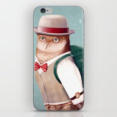 Going Home For Christmas iPhone & iPod Skin