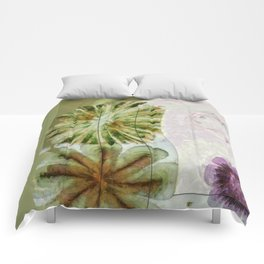 Essive Truth Flowers  ID:16165-132545-22351 Comforters