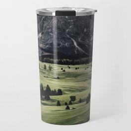 seiser alm landscape Travel Mug
