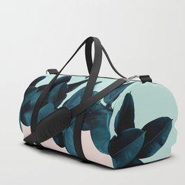 Blue Leaves Duffle Bag