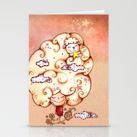 Day Dreaming Stationery Cards