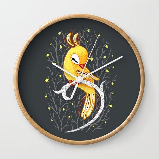 Magic Canary Wall Clock