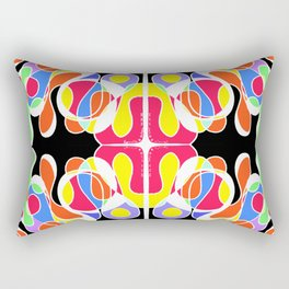 earth tectonics Rectangular Pillow