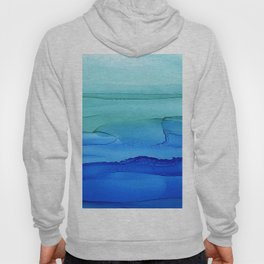Alcohol Ink Seascape Hoody